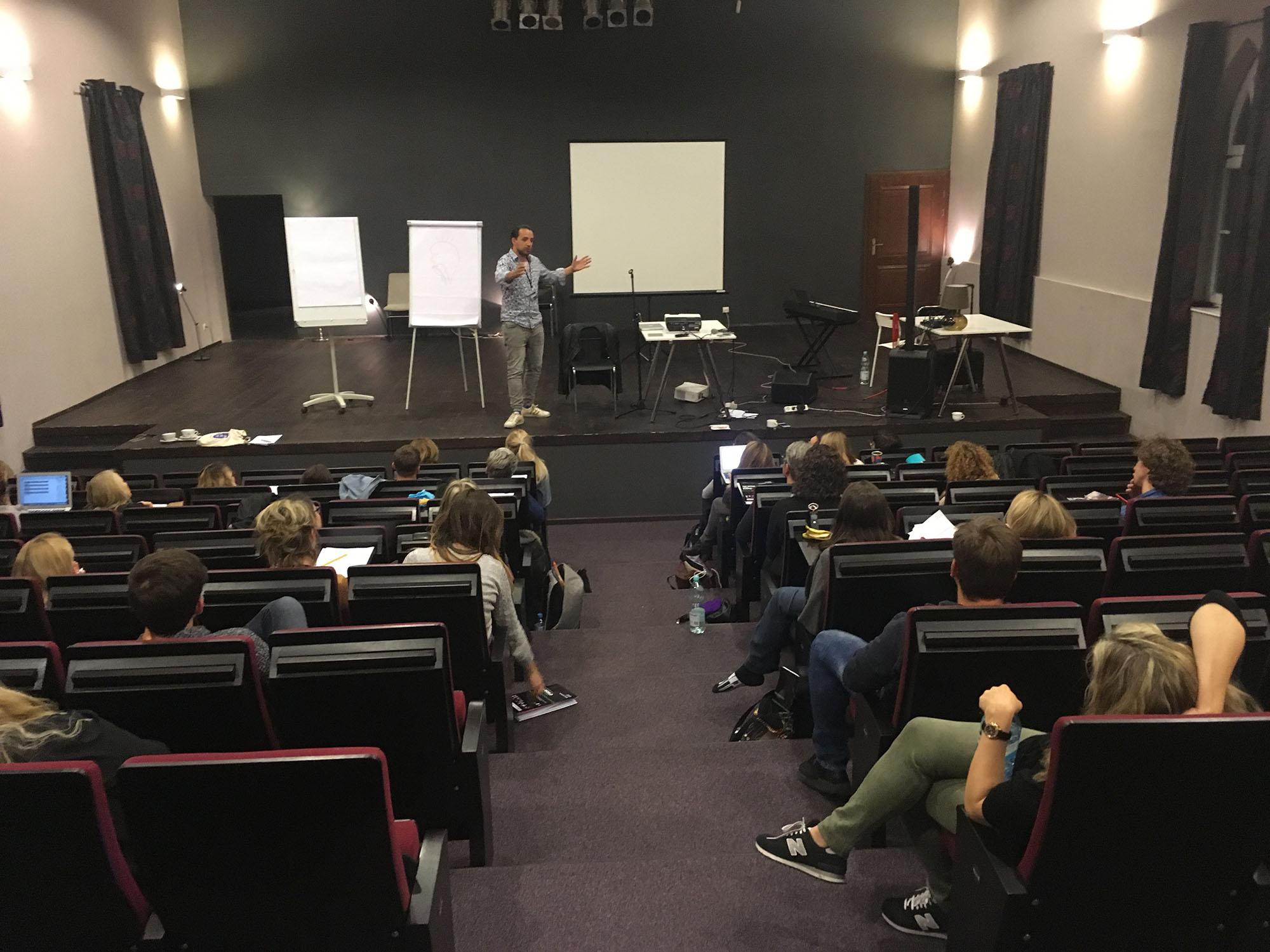 International Official Workshops – Modern Vocal Training